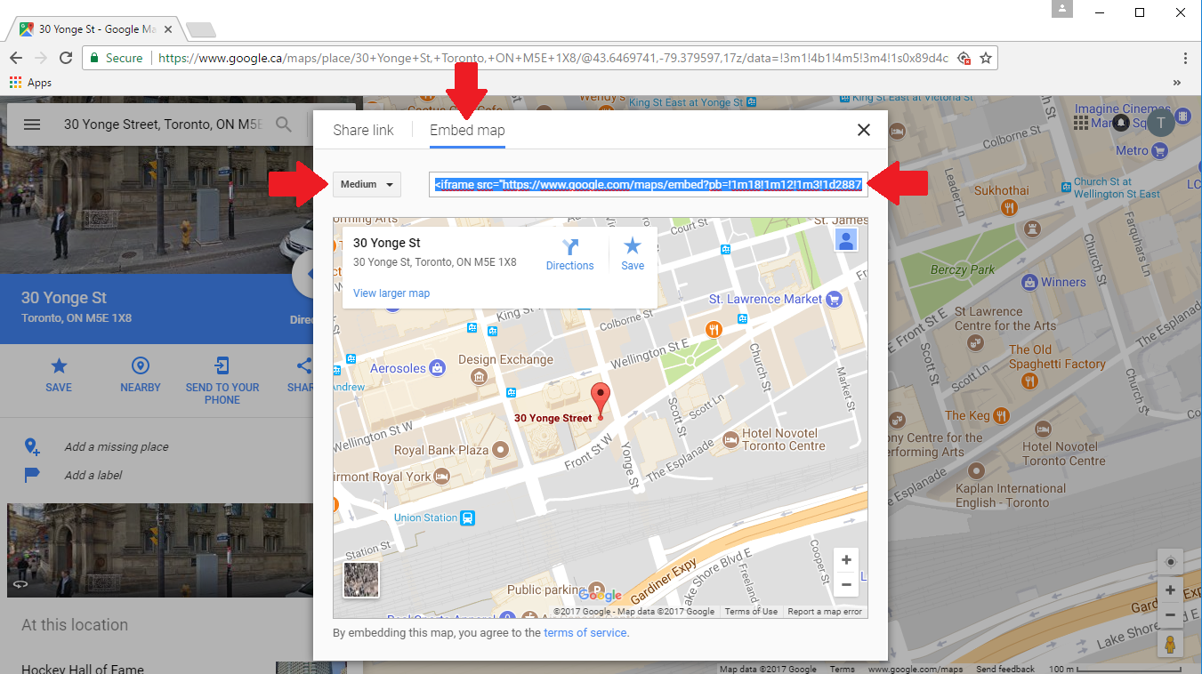 Can I Place A Google Map On My Website Athletadesk Help Center