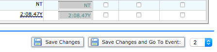 Save Changes buttons