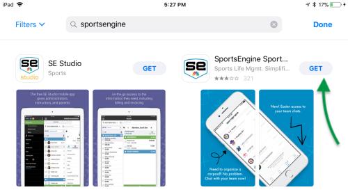 SportsEngine App