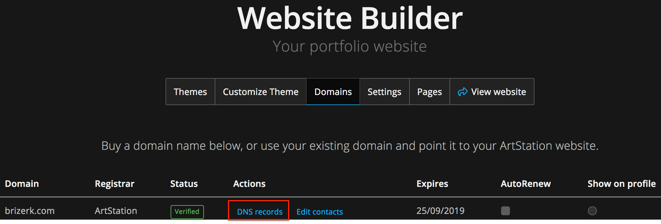 How do I set up G Suites with my ArtStation Custom Domain