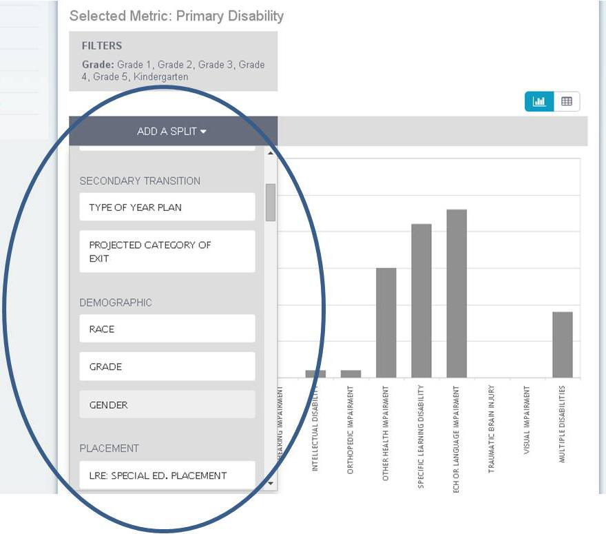 Data Analytics Functionality - Maryland Online IEP User