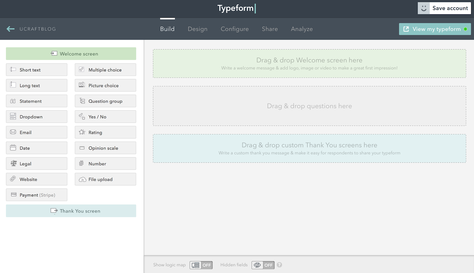 How to get customer feedback on your website using Typeform