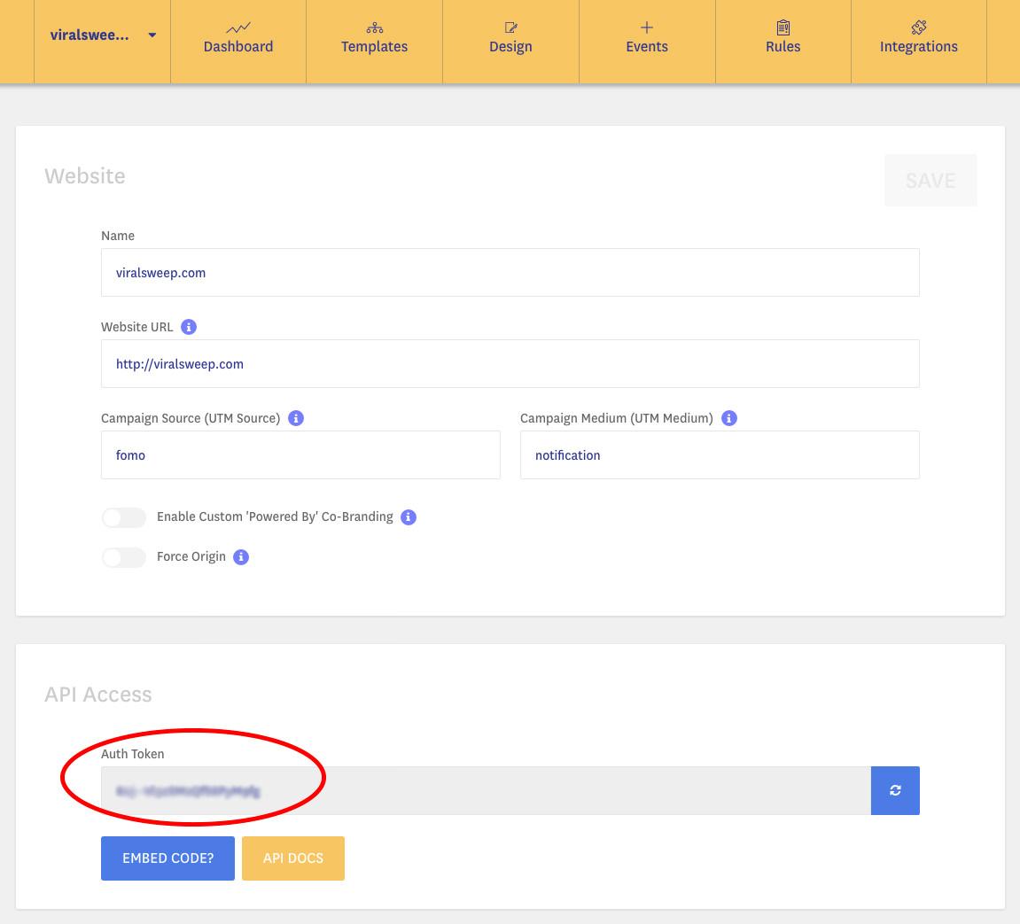 Fomo - ViralSweep Knowledge Base