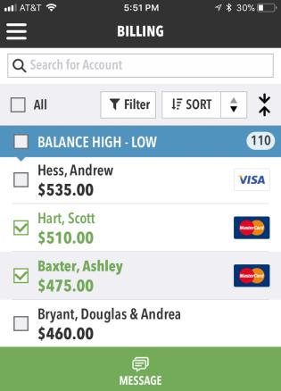 Billing Accounts