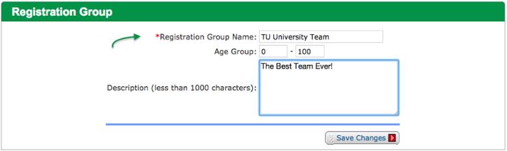 Registration Group