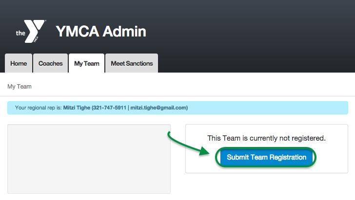 Submit Team Registration