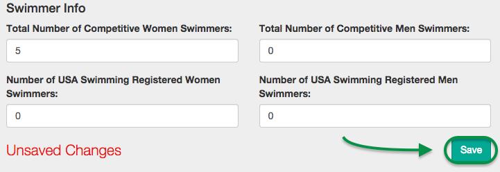 Swimmer Info