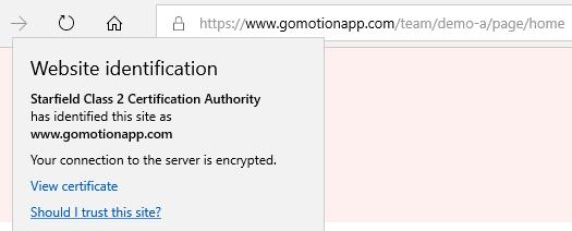 https in Microsoft Edge