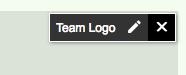 Team Logo overlay