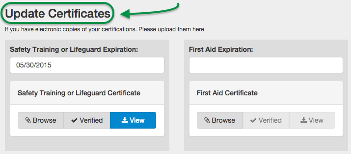 update-certifications