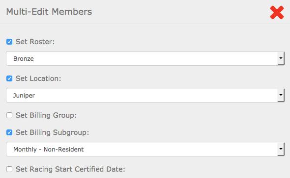 Multi-Edit Members