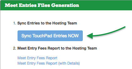 Meet Entries Files Generation