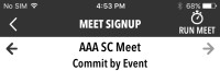 Commit by Event Meet