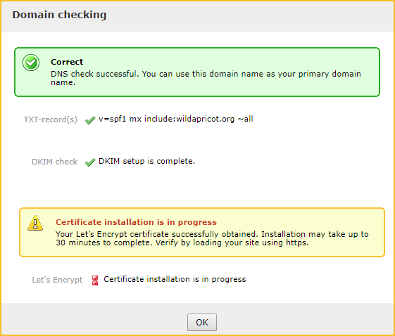 Securing custom domains with Let's Encrypt security