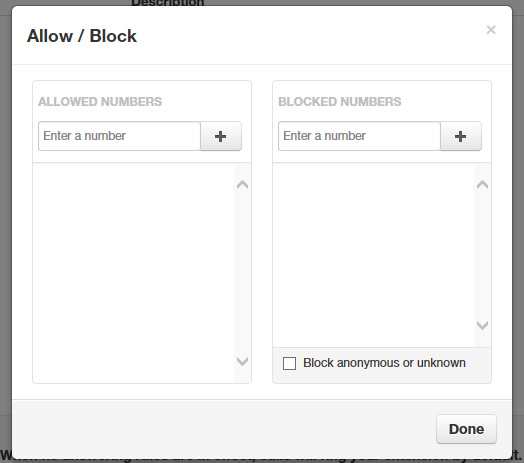 Allowing or Blocking Callers - SkySwitch Knowledge Base