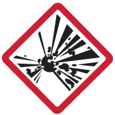 An illustration of an explosion.