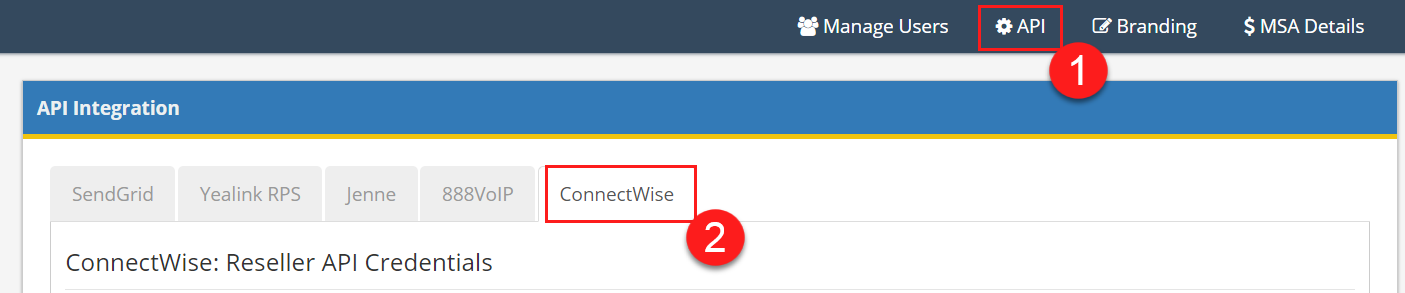 ConnectWise Manage Integration - SkySwitch Knowledge Base