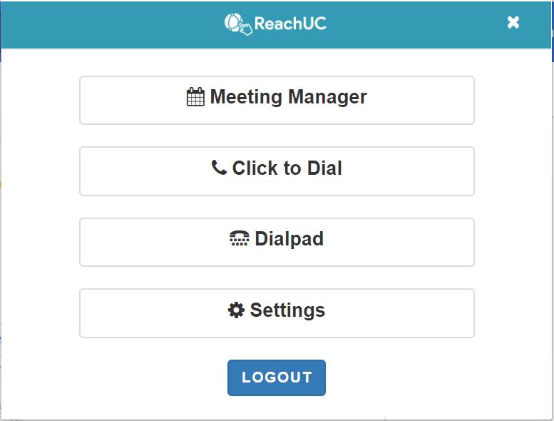 ReachUC Click to Call for Google Chrome - SkySwitch