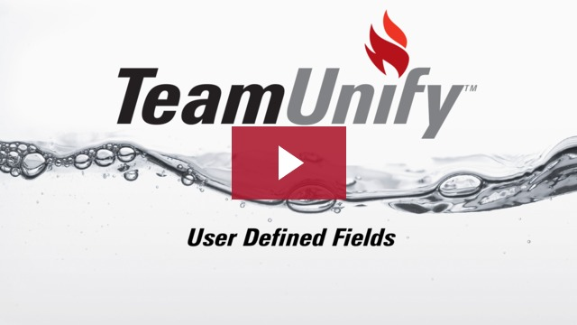 User Defined Fields