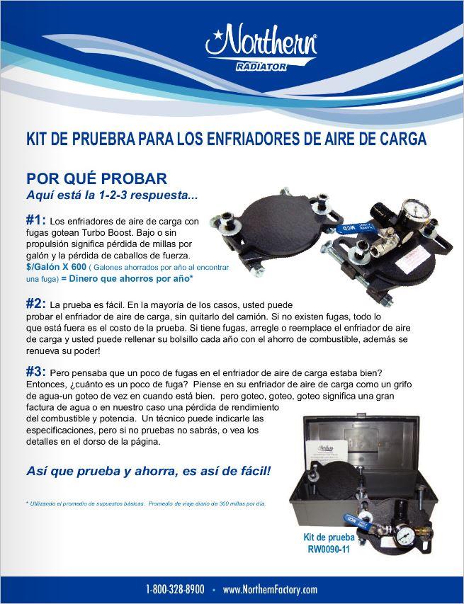 Kit de Para ENFRIADORES_DE_AIRE_DE_CARGA