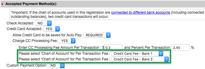 Accepted Payment Method(s)