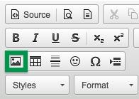 CKEditor toolbar