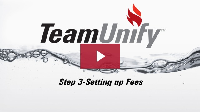 Step 3 - Setting up Fees