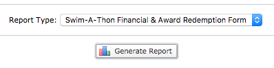 TUMoney report selection