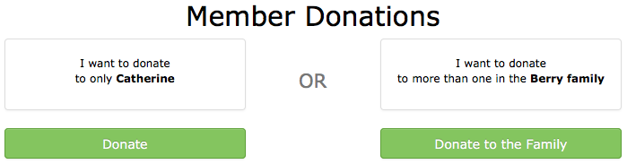 Split donation option