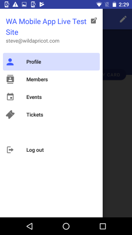 Wild Apricot for members app (Android) - Wild Apricot Help