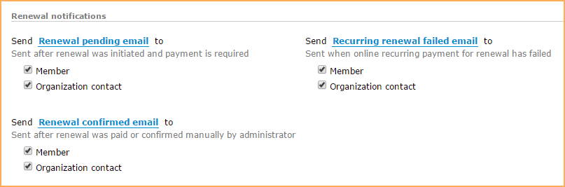 Membership emails - Wild Apricot Help
