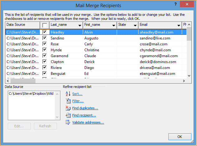 Download mail merge toolkit 4. 0.