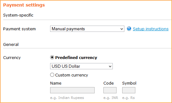 manual payments wild apricot help rh gethelp wildapricot com Payment Processing Manual disadvantages of manual payment system