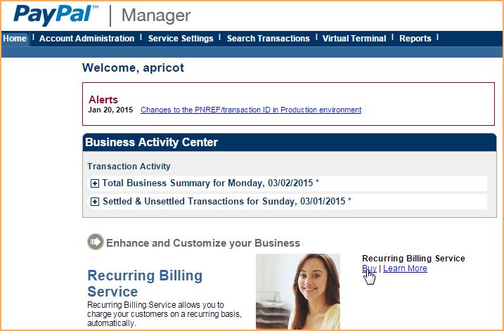 PayPal Payflow Pro - Wild Apricot Help