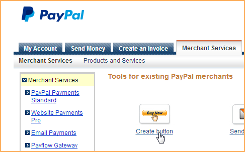 adding paypal buttons wild apricot help