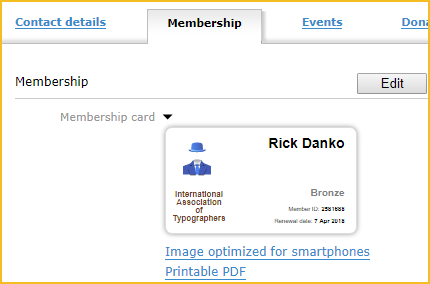 image about Printable Membership Cards referred to as Subscription playing cards - Wild Apricot Support