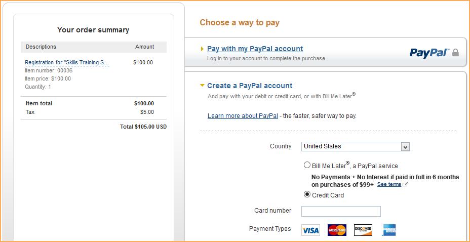 PayPal Express Checkout - Wild Apricot Help