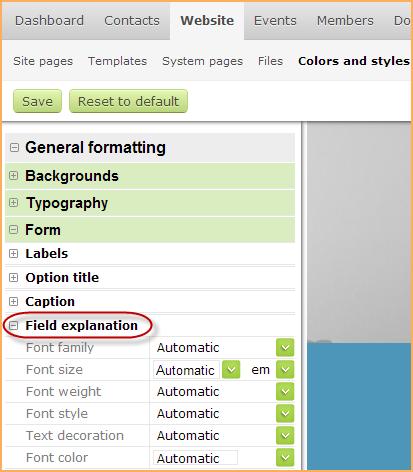 Adding and modifying database fields - Wild Apricot Help