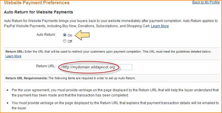 Paypal Account Setup Wild Apricot Help