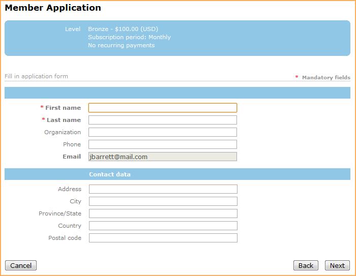 Membership application gadget wild apricot help membership application gadget maxwellsz