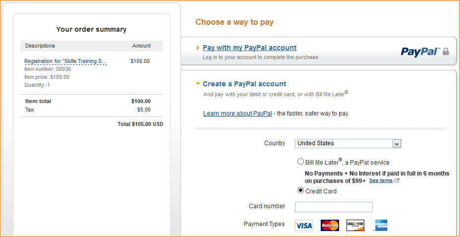 PayPal Payments Standard - Wild Apricot Help