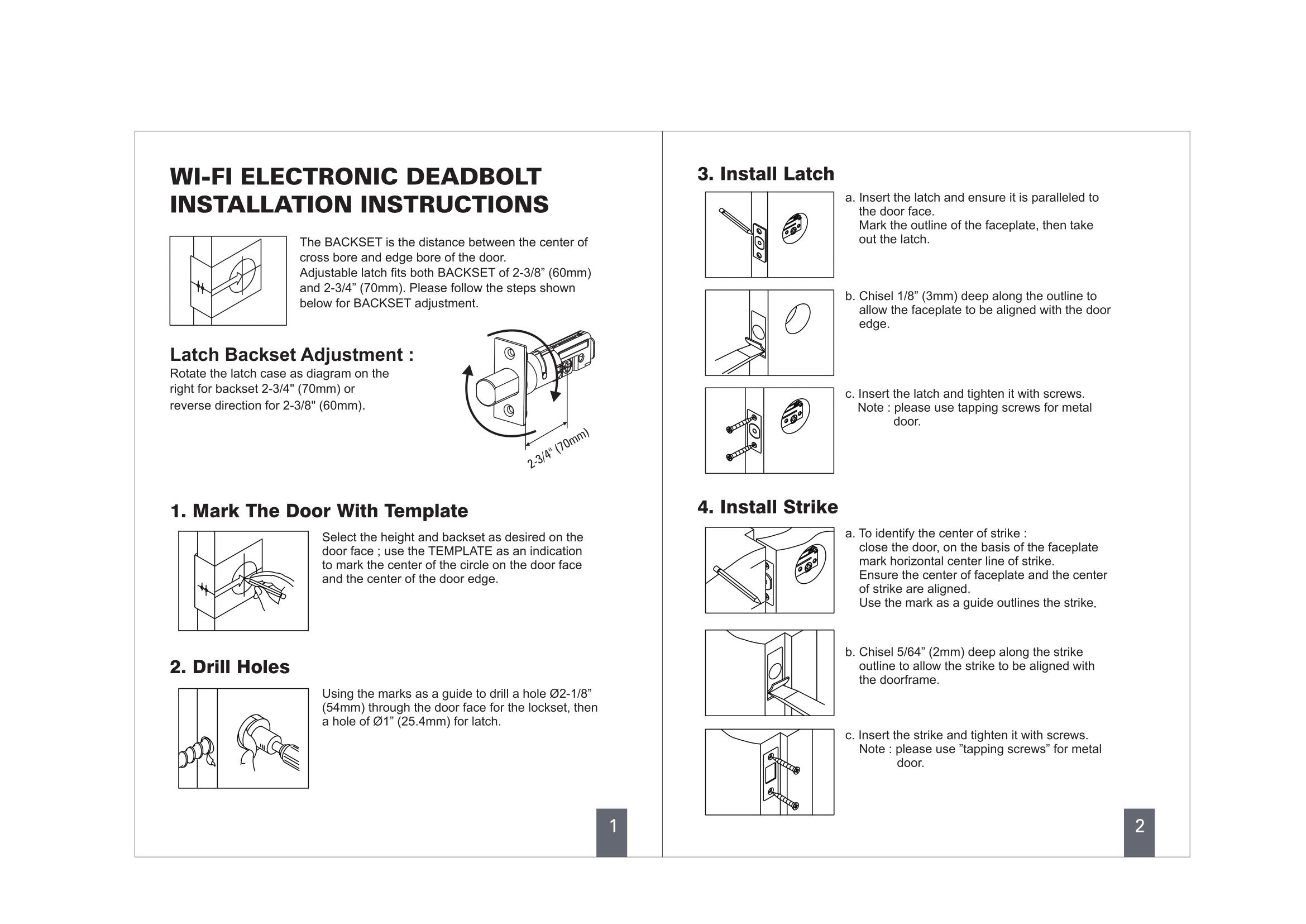 door backset template dewalt door lock installation kit sc 1 st the home depot. Black Bedroom Furniture Sets. Home Design Ideas