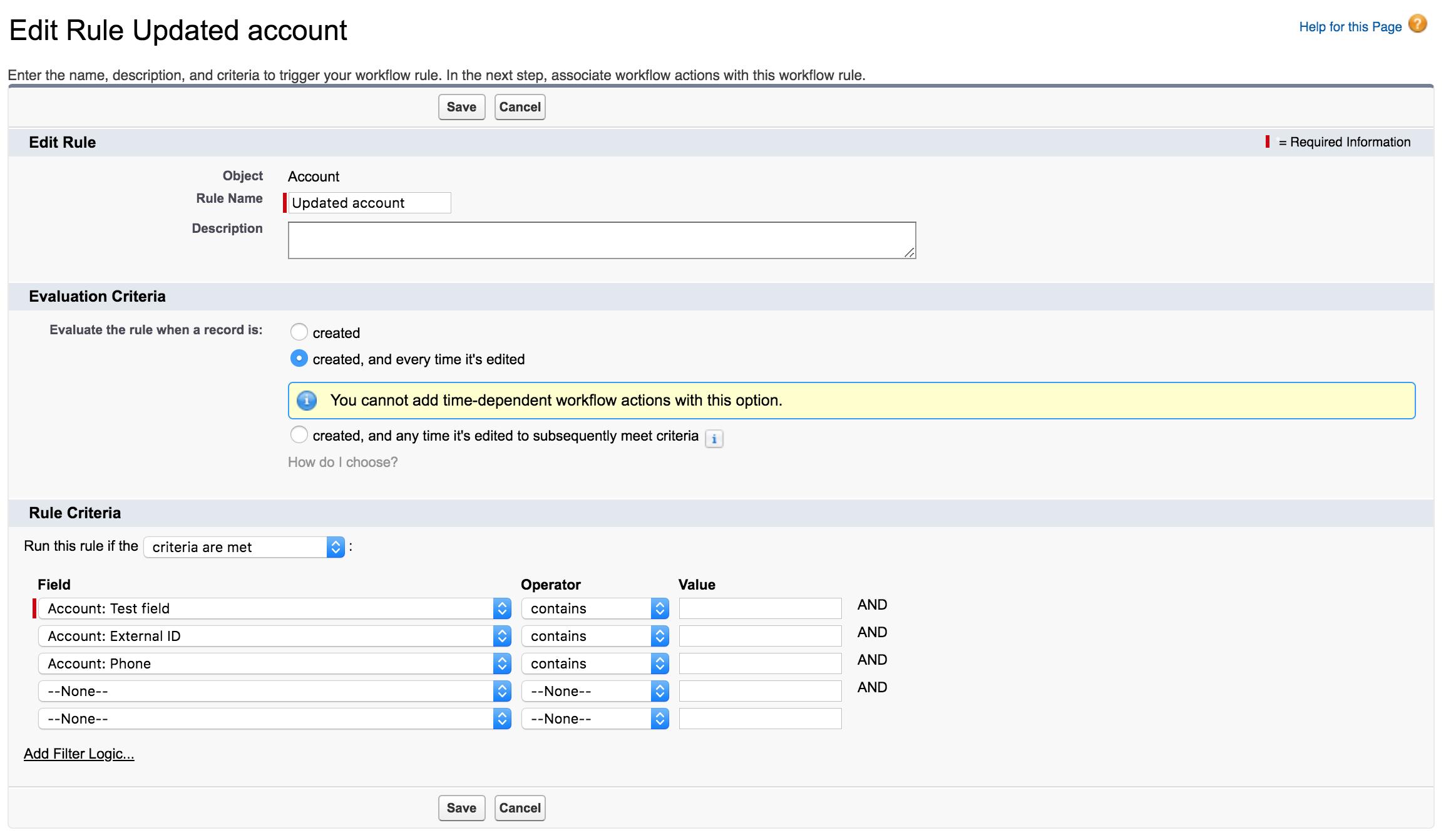 Syncing Salesforce account data to Vitally accounts (via