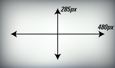 Home page image dimensions