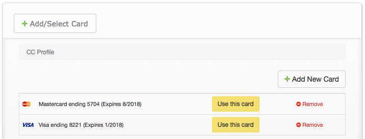 Billing: Change/edit payment methods in Account - TeamUnify