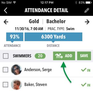 Attendance Detail